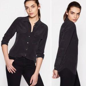 NWT EQUIPMENT Signature 100% Silk Blouse Shirt U